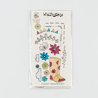 Dolly Dimples Wellington Stamp Set - 16 Stamps in Total-840580