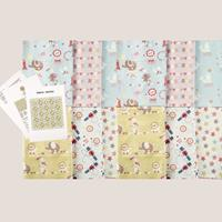 Fabric Freedom Circus Quilt Kit x 2 - Contains 10x 0.5 Metres and-840871