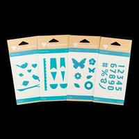 Diamond Press Fashion Die Set - 35 Dies-841438