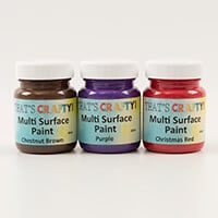 That's Crafty! Set of 3 Pick n Mix 60ml Multi Surface Paints-842099