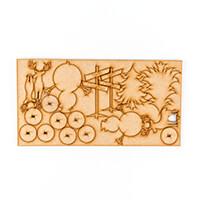Luv Crafts 9 MDF Festive Embellishments-842141