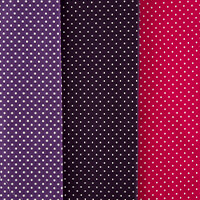 Dawn Bibby 3 x Half Metre Spots Fabric Bundle - 100% Cotton-844425