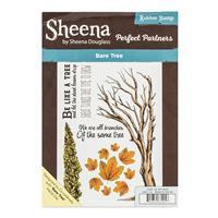 Sheena Perfect Partners A5 Stamp Set - Bare Tree - 6 Stamp Elemen-845117