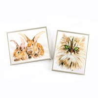 Pixelhobby UK Rabbits & Cat Combo Kit-845576