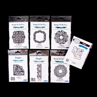 Creative Expressions 7 x Sue Wilson Mounted Rubber Stamps-845651