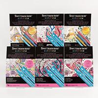 Spectrum Noir Colorista 4 x A4 Marker Pads & 2 x A4 Pencil Pads-846324