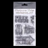 Picture This A6 Stamp Set - Little Beach Huts - 5 Stamps-851677