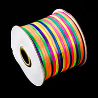 300 Yards of Dyed 3mm Satin Ribbon-851767