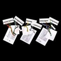 Permin Set of 3 Flowers Aida Cross Stitch Kits - Poppy, Sunflower-852044
