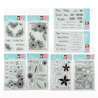 Julie Hickey Designs Complete Garden Blooms A6 Stamp Sets - 88 St-852897