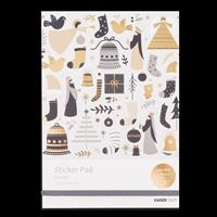 Kaisercraft First Noel A5 Sticker Pad - 20 Sheets-853245