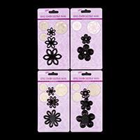 Hobbyidee 4 Floral Die Sets - 11 Dies Total-854464