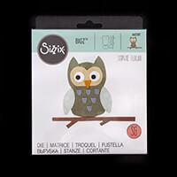 Sizzix® Bigz™ Die - Owl by Sophie Guilar-855159