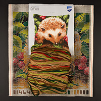Stitch Kits Henry Hedgehog Cross Stitch Cushion Front Kit-856435