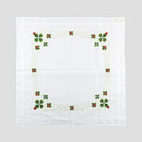 Stitch Kits Lucky Clover Table Cloth Cross Stitch Kit-859562
