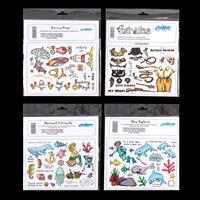 Creative Expressions 4 x Unmounted Stamp Sets - 83 Stamps Total-860209