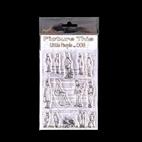 Picture This A6 Stamp Set - Little People - 14 Stamps-860428