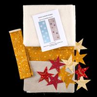 Cotton Cocktails Stars Table Runner Kit with Pre-Cut Fusible Star-860483
