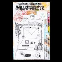 AALL & Create A5 Stamp Set - Mail Art - 6 Stamps-861252