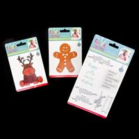Sara Signature Cute Christmas Dies - Gingerbread Man, Reindeer wi-861410