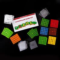 PixelHobby UK Caterpillar Name Plaque Kit - 8 Mini Baseplates wit-862050