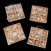 Crafts Too 4 Sets of Wooden Shapes - 3 x Christmas and Celebratio-862231