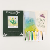 Rowandean Embroidery Dandelion and Bumble Bee Kit-863017