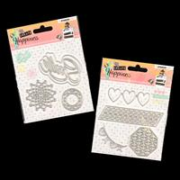 StudioLight 2 x Create Happiness Die Sets - Smile and Borders - 9-866427