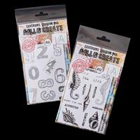 AALL & Create 2 x Clear Stamp Sets - House Numbers & Underwater W-866539