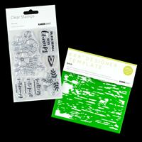 Kaisercraft Blessed Collection - Bouquet Stamp Set & 6x6