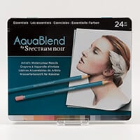 Spectrum Aquablend Pencils x 24 - Essentials-868530