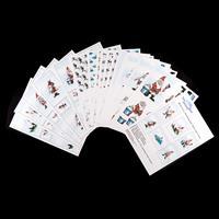The Card Hut Santa's Workshop Pearlescent Paper Kit - 110gsm-869297