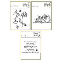 Nina Crafts Summer Fairy Stamp Sets - 7 Stamps-869888