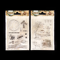 StudioLight 2 Woodland Winter Christmas Stamps - 20 Stamps-870217