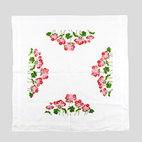 Stitch Kits Floral Embroidery Table Cloth Kit-870431