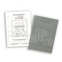 Chocolate Baroque Head Office A6 Rubber Stamp Designed by Kim Moo-870845