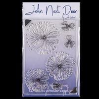 John Next Door Blousy Poppy Stamp Sheet - 6 Images-871010