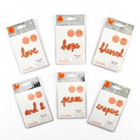 Tonic Will's Hand Favorite Sentiments - 6 Die Sets-871414