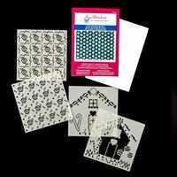 Spellbinders 1 x 3D Embossing Folder - Celtic Weave & 2 x Duo Mas-871701