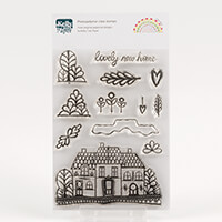 Kelly Cuts Paper A6 Stamp Set - Little Row-872655