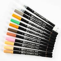 Zig® Set of 10 Art & Graphic Twin Topped Pens & 2 x Blending Pens-873057