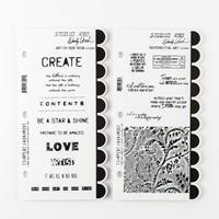 Art Gone Wild 2 x Stamp Sets - Art on Her Mind & Sentimental Art -873840