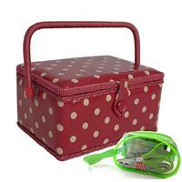 Sewing Online Medium Sewing Basket with Sewing Kit-875081