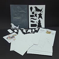 Which Craft? Match Box Pack and Sleigh Ride Template inc Die Cut -876922