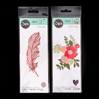 Sizzix® Thinlits™  Set of 11 Dies - Delicate Feather & Pretty Pos-877136