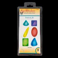 Spellbinders Shapeabilities Die Set - Jewel Stones - 6 Dies Total-877386