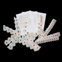 Craft Yourslef Silly 3 x White Lace Kaftan Collar inc Sleeve Trim-877422