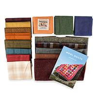 Fabric Affair Grandad's Coat - Tweed and Cotton Quilt Kit - 45 x -882441