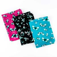 Perfect Occasions Set of 3 100% Polyester Fabrics - Butterfly Cra-883087