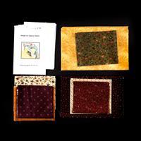 Juberry Fabrics Messenger Bag Fabric Kit Including Pattern-883275